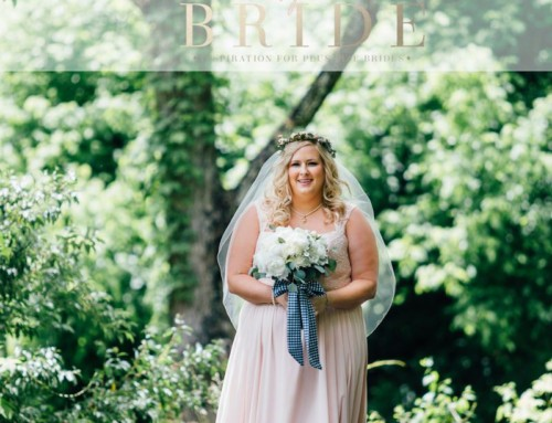 Kennedy Blue featured on Pretty Pear Bride