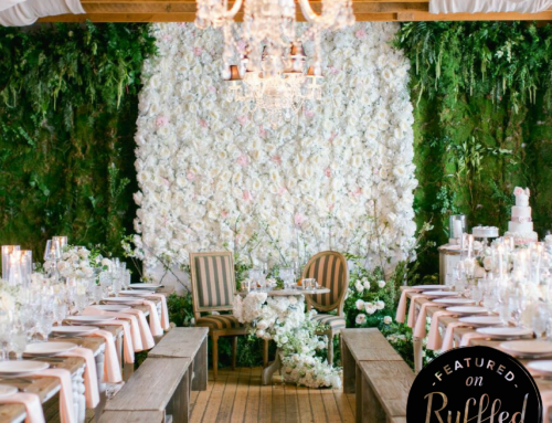 Romantic and Lush Carondelet House Wedding on