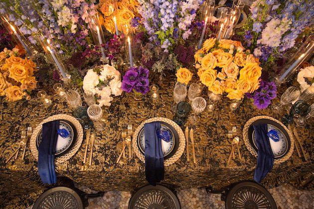 Barcelona, Modernisme, Inspired, Tabletop, inside weddings_luxe linen
