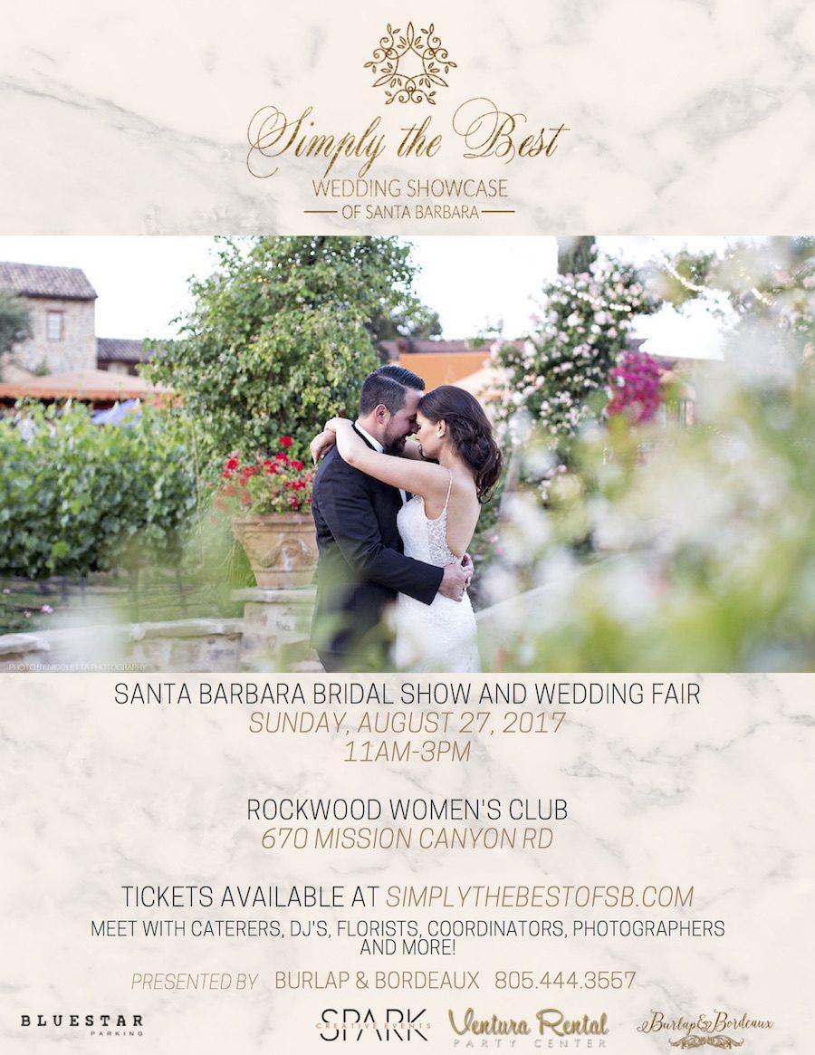 Simply the Best Wedding Showcase, Santa Barbara Wedding, Wedding Planning