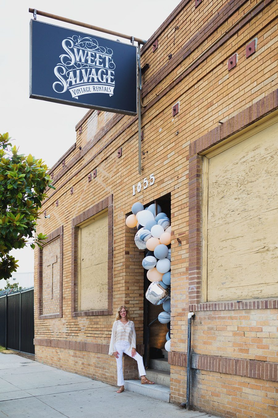 sweet salvage rentals open house, vintage rentals