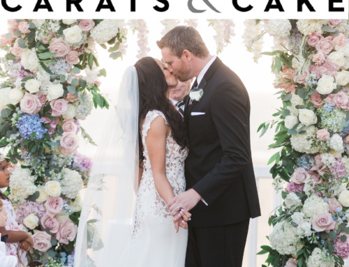 Romantic Seaside Wedding Featured on Carats and Cake