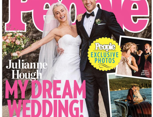 Shawna Yamamoto Featured on People Magazine for Julianne Hough's Wedding