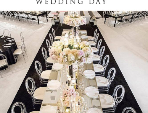 Shawna Yamamoto Black & White Design Featured in California Wedding Day