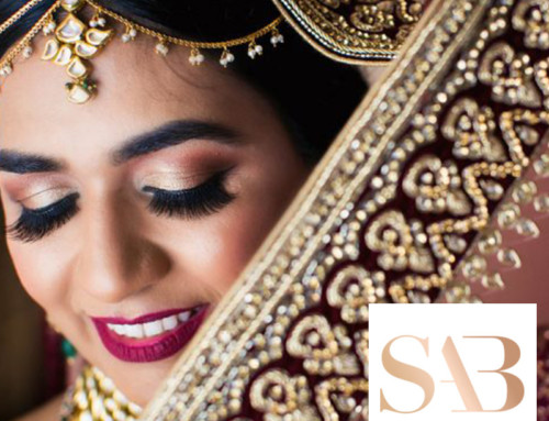 Shawna Yamamoto in South Asian Bride Magazine with Callaway Gable