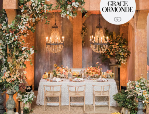 Montecito Inspired Tabletop Featured in Grace Ormonde