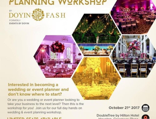 Doyin Fash Hosts Wedding & Event Planning Workshop