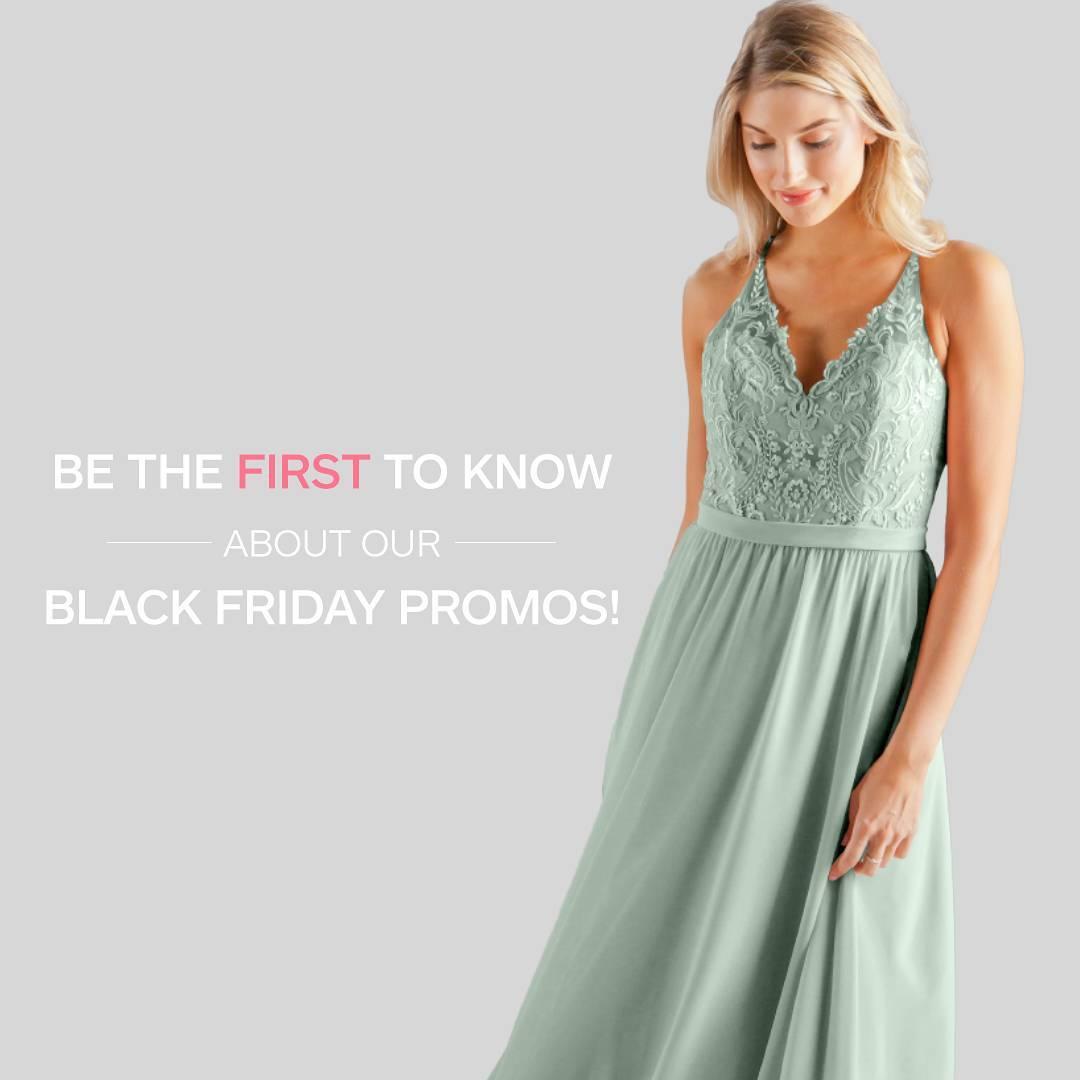Shop Black Friday Sale With Kennedy Blue Bridesmaid