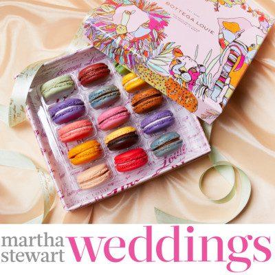Bottega Louie Macarons Martha Stewart Weddings 1
