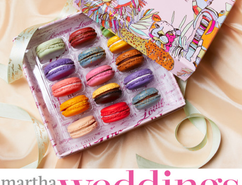 Bottega Louie Macarons Featured in Martha Stewart Weddings