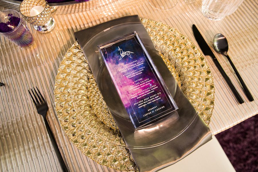 futuristic tabletop, Futuristic Tabletop Inspiration Featured in Strictly Weddings
