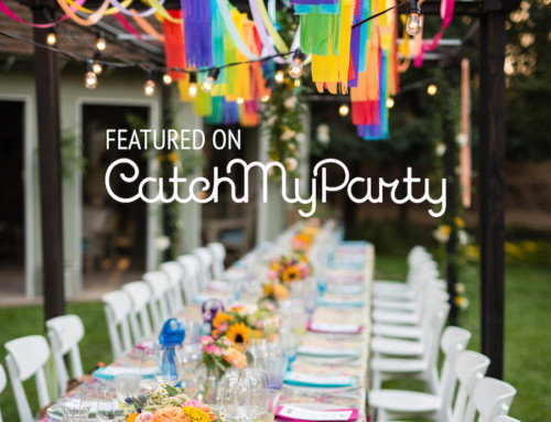 Groovy 50th Birthday Party Featured on Catch My Party