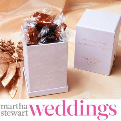 Bottega Louie Stocking Stuffers Featured in Martha Stewart Weddings