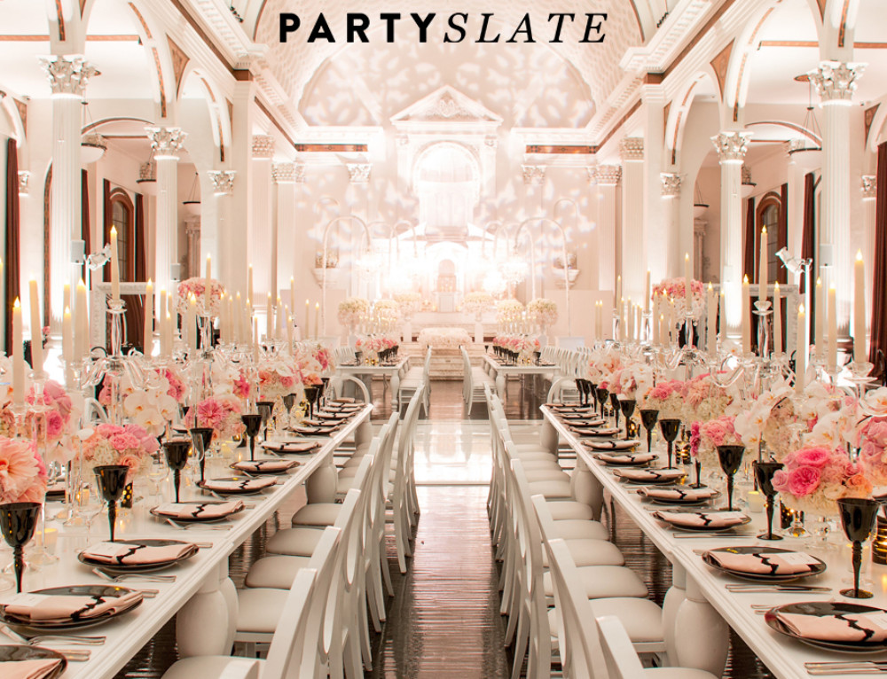 Chanel Inspired Wedding Featured on PartySlate