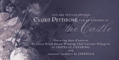 Claire Pettibone's festive gathering