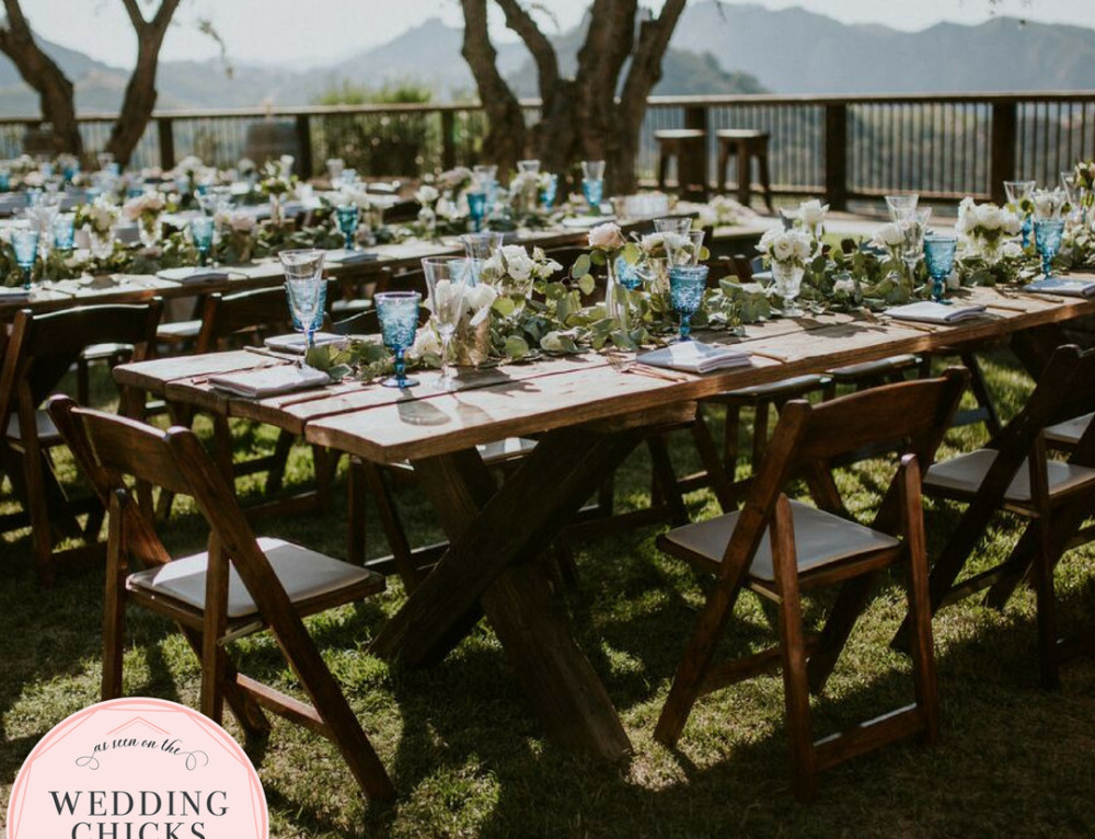 Rustic-Chic Cielo Farms Wedding Featured on Wedding Chicks