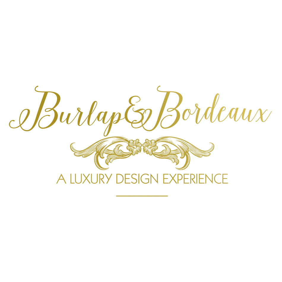 Burlap and Bordeaux Logo