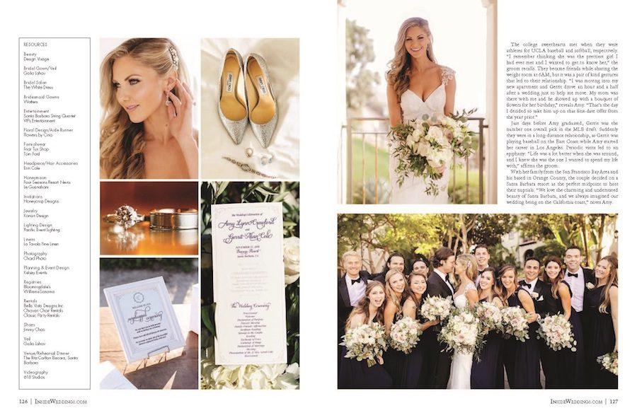inside weddings, flowers by cina, rayce pr, marketing, floral design, press