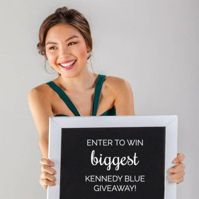 Kennedy Blue Giveaway