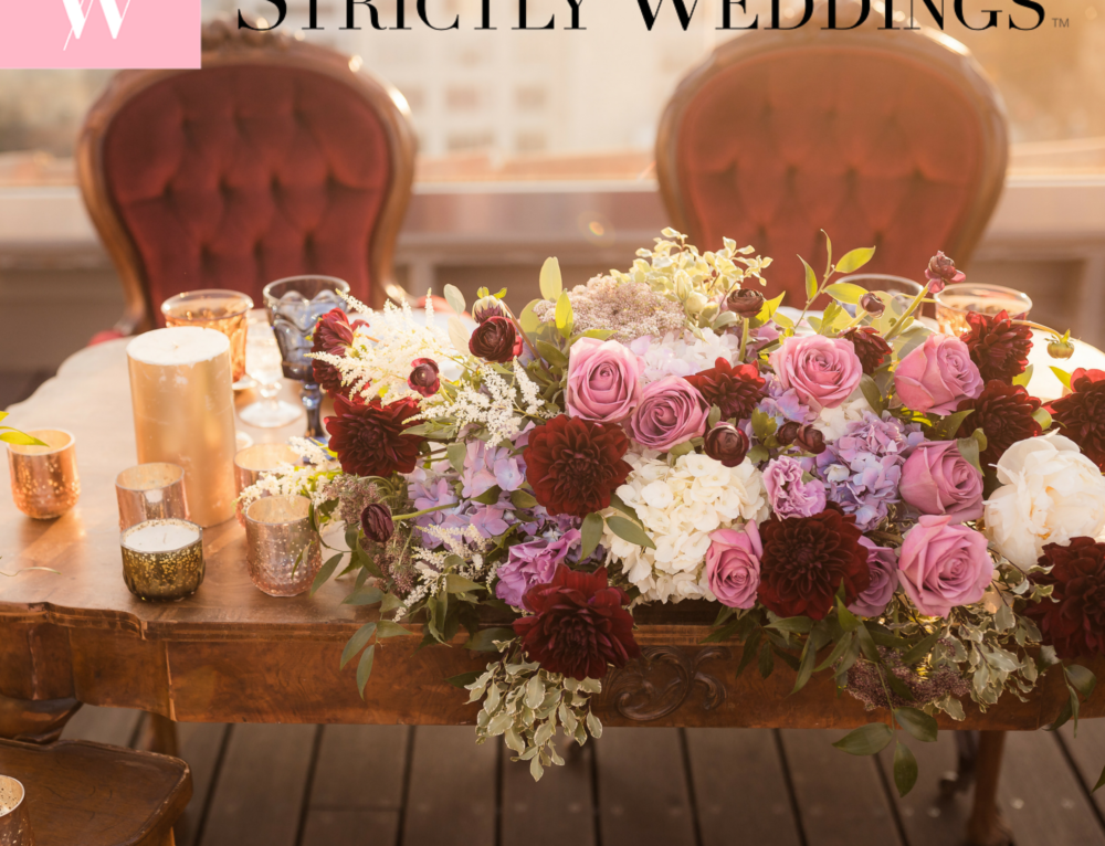 Vintage Hollywood Glam as Featured on Strictly Weddings