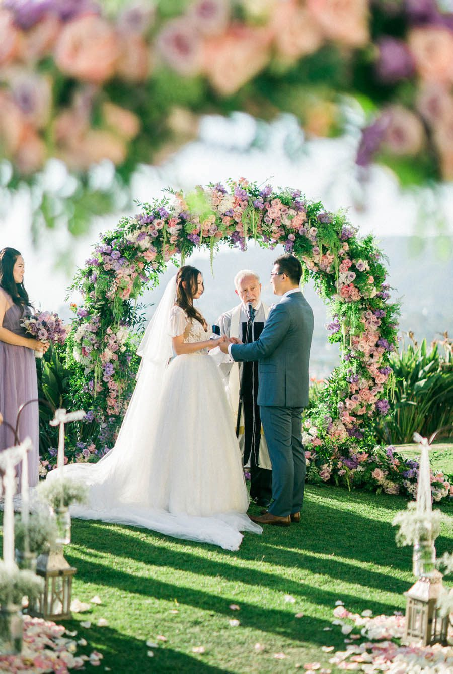 Ultra Violet Pantone Color Of The Year Wedding Featured in Belle the Magazine