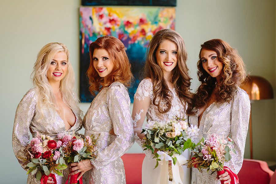 Glam Valentine's Day Wedding Featured on Strictly Weddings1