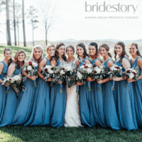 Kennedy Blue Featured on BrideStory