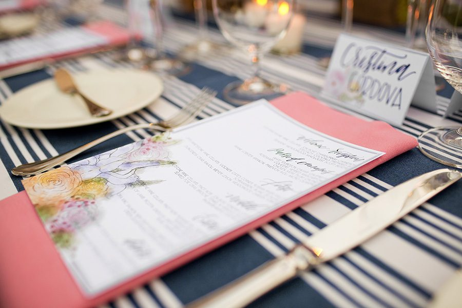 Kate Spade Inspired Bridal Shower Featured on Strictly Weddings