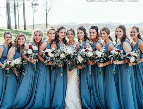 Kennedy Blue Featured on Bridestory For Caleb and Emily's Wedding