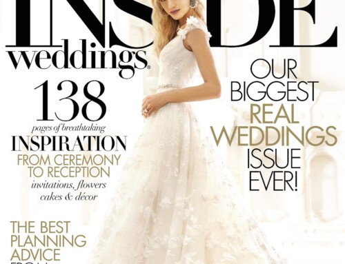 Bridal Fashion Shoot Featured in Inside Weddings