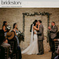 Urban Rustic Wedding featured on BrideStory