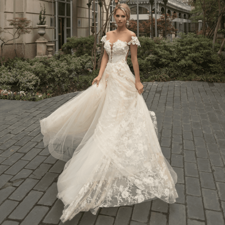 """f9afd69269 Naama and Anat Haute Couture Release New Collection 2018 Collection """"Dancing  Up The Aisle"""" - Rayce PR"""