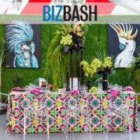luxe linen, luxe launch, biz bash