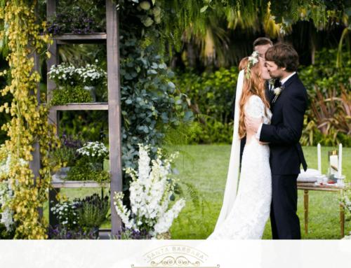 Bohemian Chic Wedding on Santa Barbara Wedding Style