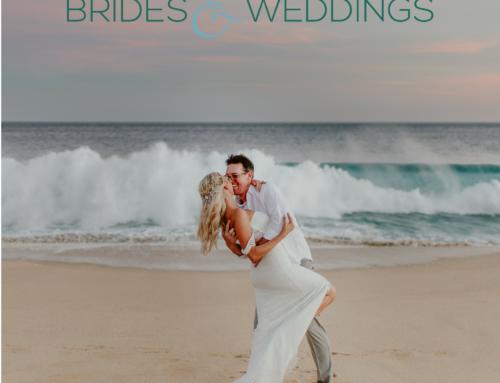 Gia and Josh's Wedding Featured on Brides & Weddings Magazine