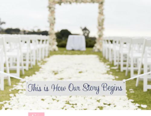 Monarch Beach Wedding on Strictly Weddings