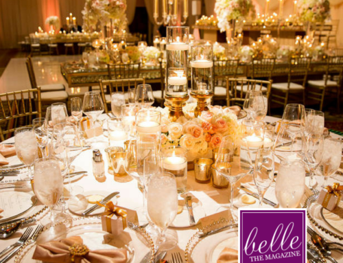 Blush & Gold Wedding Featured on Belle the Magazine