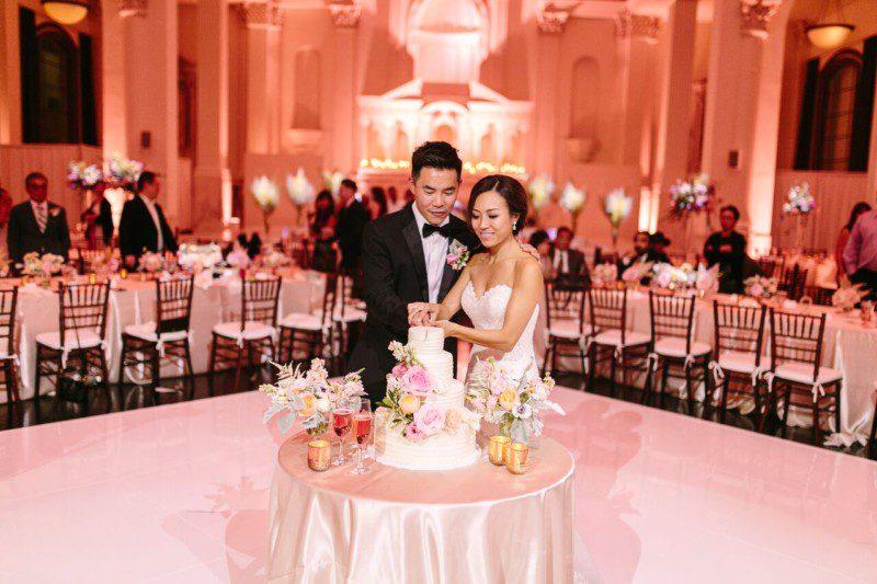 Vibiana, Historic Wedding Venue, Cloud 29 Events, Modern Wedding, Brian Leahy Photography, Vibiana Wedding, Elegant Wedding, Luxurious Wedding, Blush Wedding