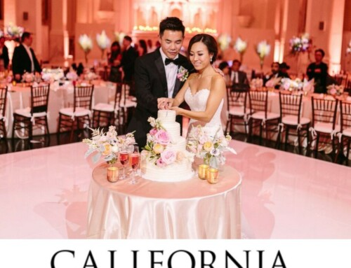 Vibiana Featured in California Wedding Day