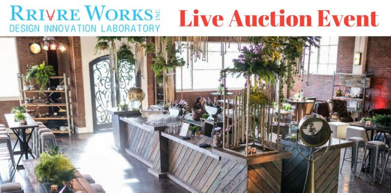 Rrivre Works Inc., Rrivre Works, Auction, Live Auction