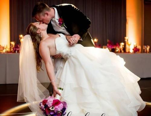 Bold Fuchsia Wedding Featured On Wedding Lovely
