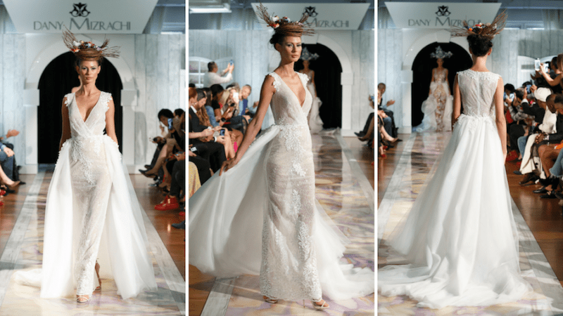 Bridal Week's Best Dany Mizrachi Dress Featured on VOGUE Netherland