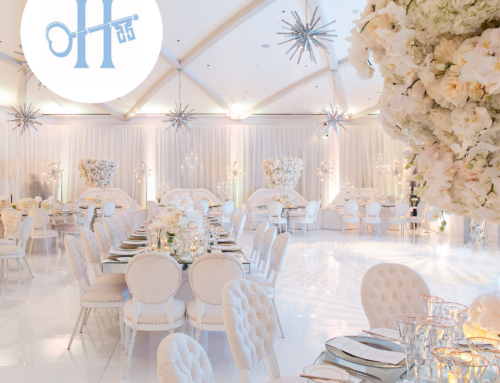 Wedding of Edgar Zamora, CEO of Revelry Event Designers, Featured on H&H Weddings