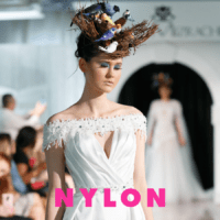 Dany Mizrachi Bridal Jumpsuit Featured on Nylon Magazine