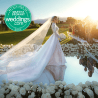 Glam Coachella Wedding Featured on Martha Stewart Weddings 2