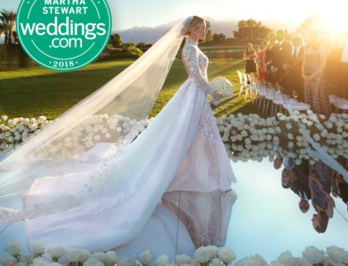 Glam Coachella Wedding Featured on Martha Stewart Weddings