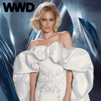 Sexy, Dramatic Dany Mizrachi Wedding Dresses Featured on WWD