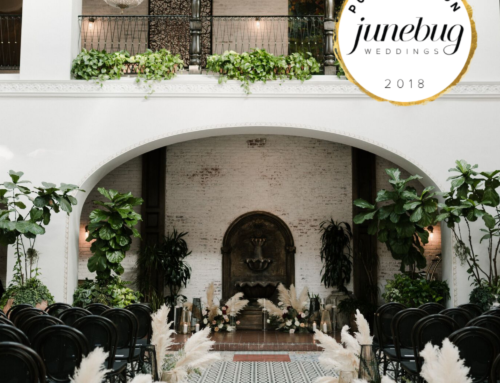 Ebell Long Beach and Tres LA Catering featured on Junebug Weddings