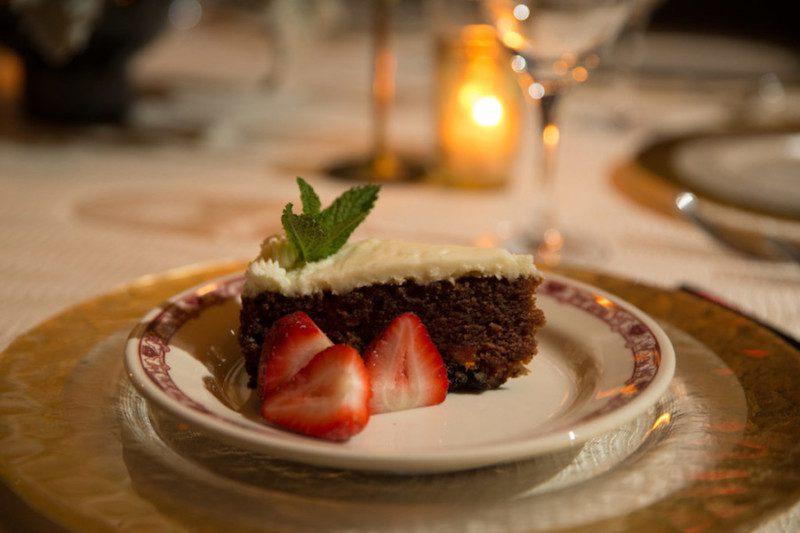 dessert, carrot cake, national adoption month, gene & georgetti, chicago steakhiuse, hephzibah, adoption