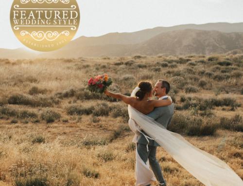 Anomalie featured on Santa Barbara Wedding Style for their Semi-Custom Wedding Veils